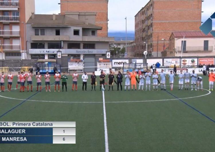 Derrota dolorosa del CF Balaguer davant del CE Manresa