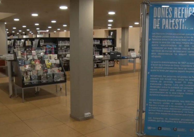 """La Biblioteca Margarida de Montferrat acull l'exposició """"Dones refugiades de Palestina. 7 dècades de resiliència i dignitat"""""""
