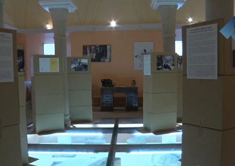 """El Monestir de les Avellanes homenatja a Josep Maria Gavín amb l'exposició """"Quantes esglésies hi ha en aquest poble?"""""""