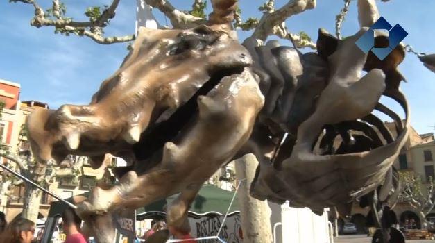 El diables de Balaguer batejaran l'Extramoni durant la revetlla de Sant Joan
