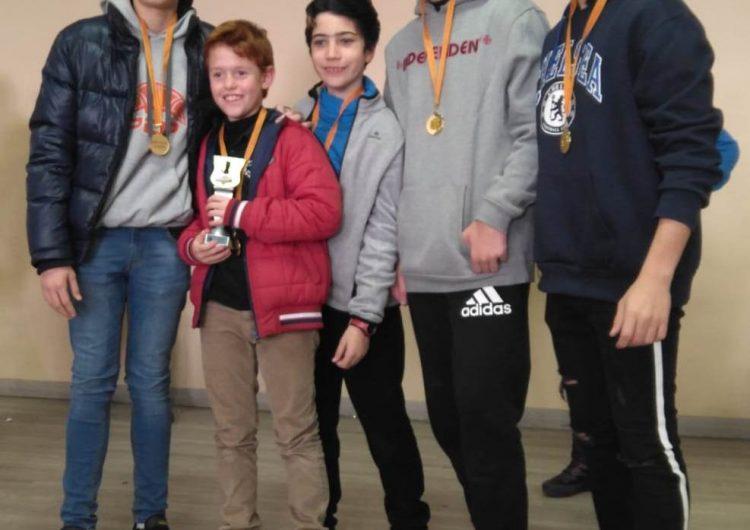Dos equips del Club Escacs Balaguer campions de les seves respctives lligues