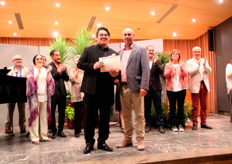 """El coreà Don Yong Noh, guanyador del 8è Concurs Internacional de Cant Líric """"Germans Pla. Ciutat de Balaguer"""""""