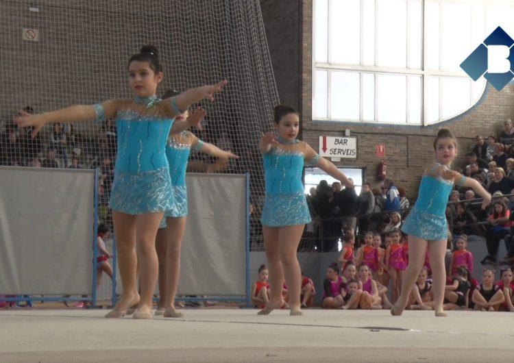 Èxit de participació i assistència al trofeu de conjunts de gimnàstica rítmica de Balaguer
