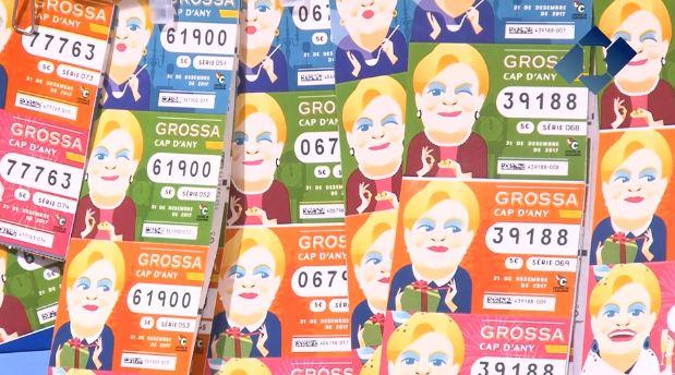 Balaguer duplica les vendes de la Grossa de Cap d'Any