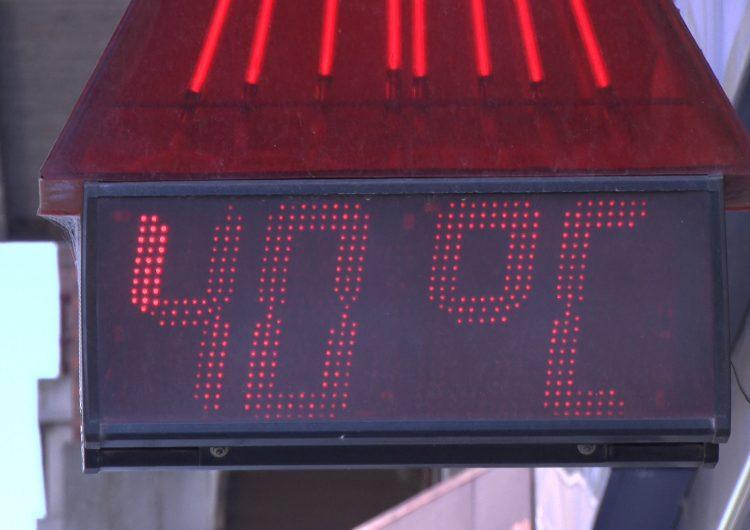 Els termòmetres freguen els 40 graus a Balaguer