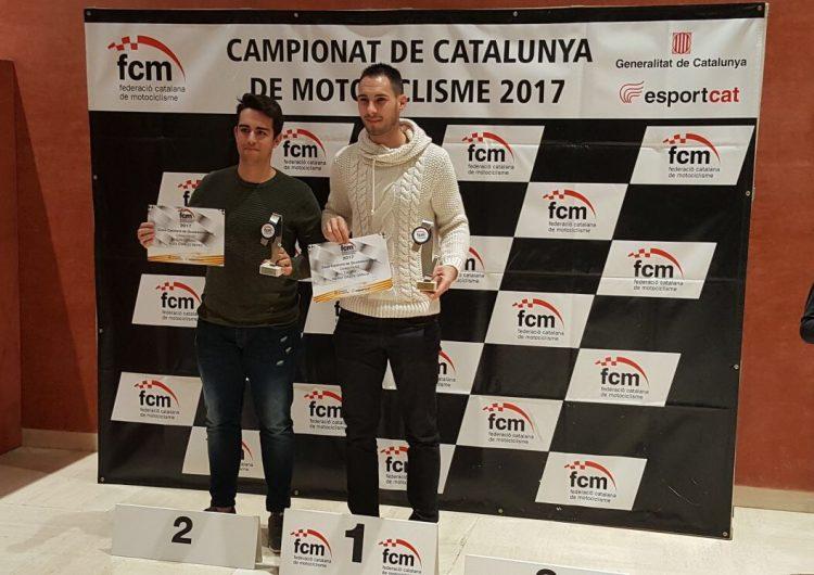 Àlex Espejo, subcampió de Catalunya de Quadresistència
