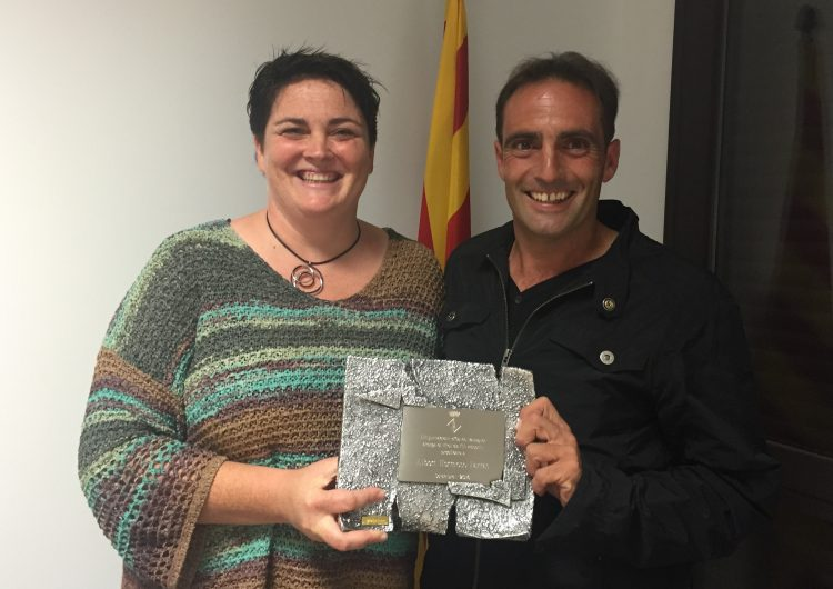 Albert Hermoso, Fill Adoptiu i Predilecte d'Os de Balaguer
