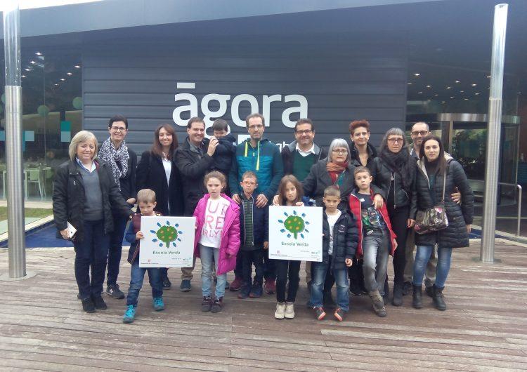 Les escoles Gaspar de Portolà i Mont-Roig de Balaguer han rebut el distintiu d'Escola Verda