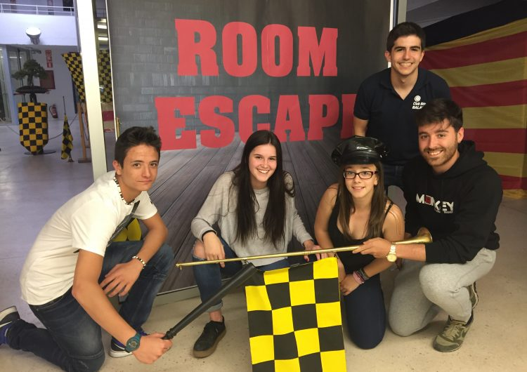 """""""Els Puntet"""" guanyadors del primer Room Escape a Balaguer"""