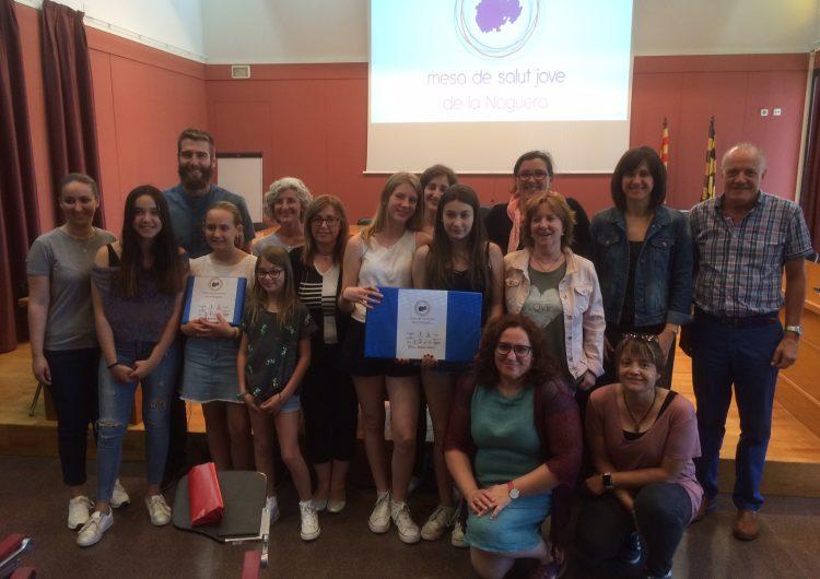 Els alumnes de segon d'ESO de l'institut Els Planells d'Artesa de Segre guanyen el III Concurs de Cartells Antitabac