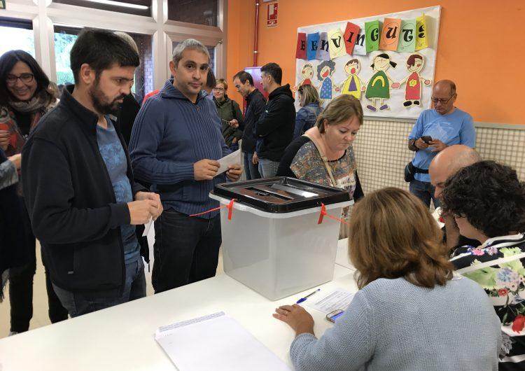 El sí s'imposa a Balaguer amb un 95% dels vots