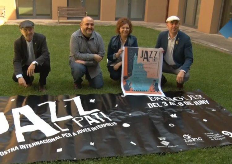 """Balaguer presenta la tercera edició de la """"Mostra Internacional per a Joves Intèrprets. Jazz al Pati"""""""