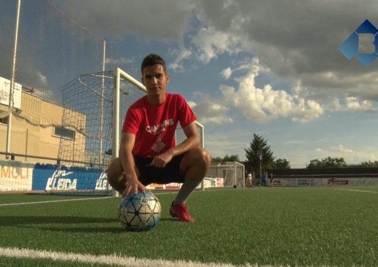 Jordi Porta, jugador cadet del CF Balaguer, fitxa pel FC Girona
