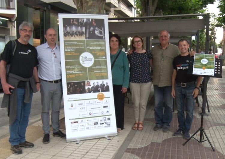 El Cor Madrigal amb Enric Majó com a rapsode donaran el tret de sortida al 8è Juliol de Música i Poesia