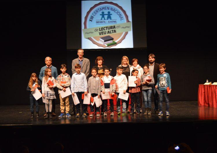 XIII Certamen Nacional Infantil i Juvenil de Lectura en Veu Alta a Balaguer