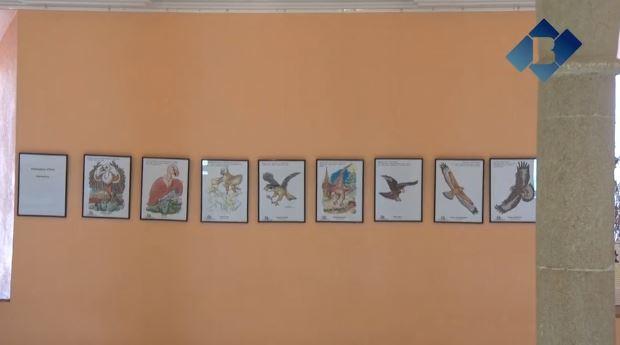 Manel Esteban exposa els seus dibuixos al Monestir de les Avellanes