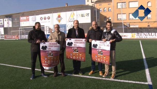 El C.F. Balaguer presenta la Copa Ciutat de Balaguer, Memorial Yerai Darias