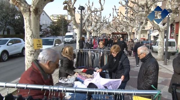 Balaguer celebra la 21a edició del Mercat de les Rebaixes d'hivern