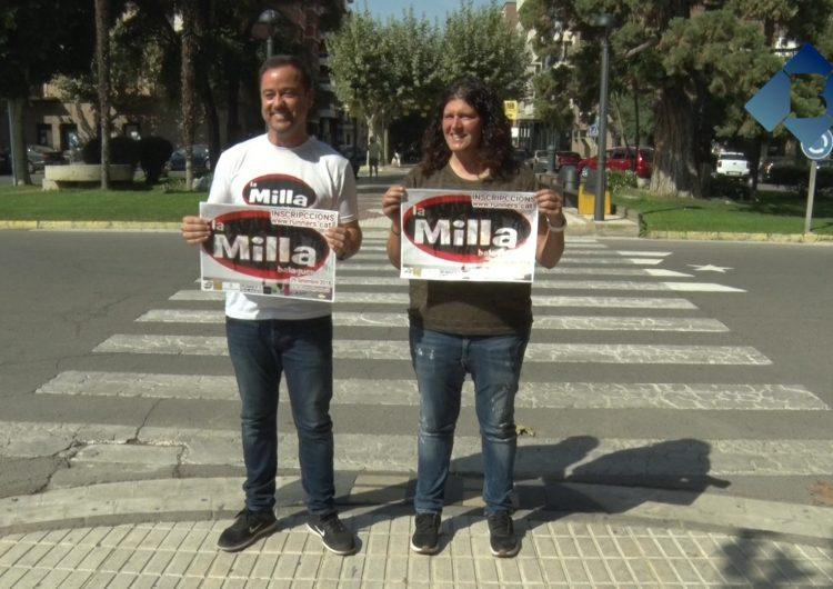 """El Passeig de l'Estació tornarà a ser escenari de la 8a edició de la """"Milla Urbana"""" de Balaguer"""