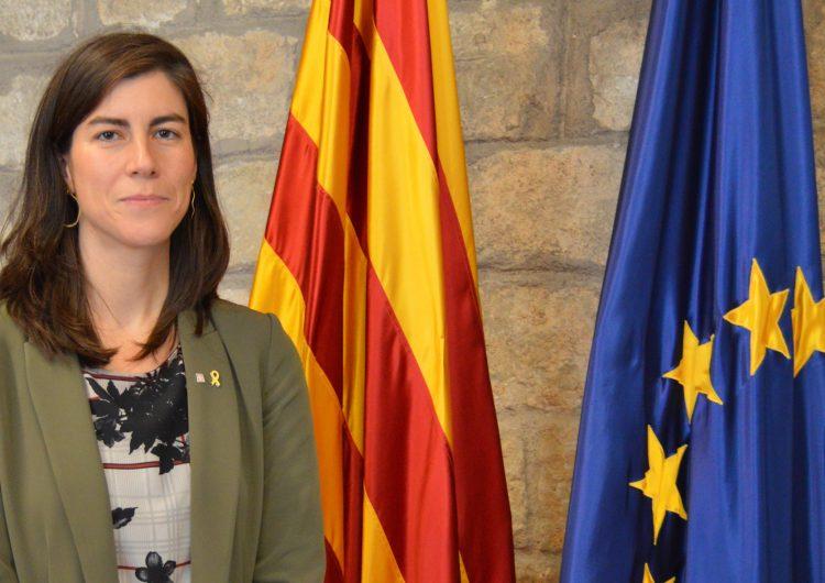 La balaguerina Mireia Borrell, nova secretària d'Acció Exterior i de la Unió Europea de la Generalitat