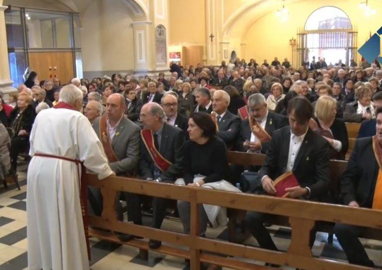 Balaguer celebra el dia del seu patró amb la tradicional missa solemne a la Basílica del Sant Crist