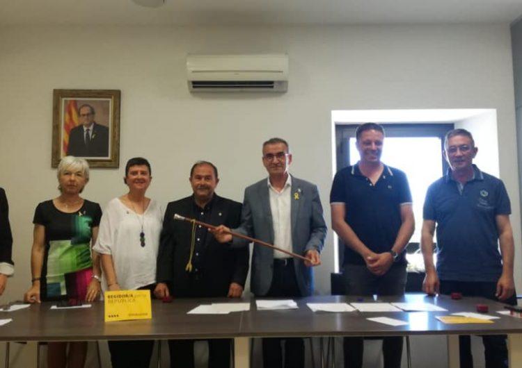 Jaume Gilabert (ERC) revalida l'alcaldia de Montgai