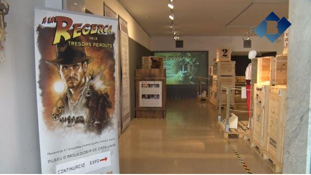 L'arqueòleg cinematogràfic Indiana Jones arriba al Museu de la Noguera