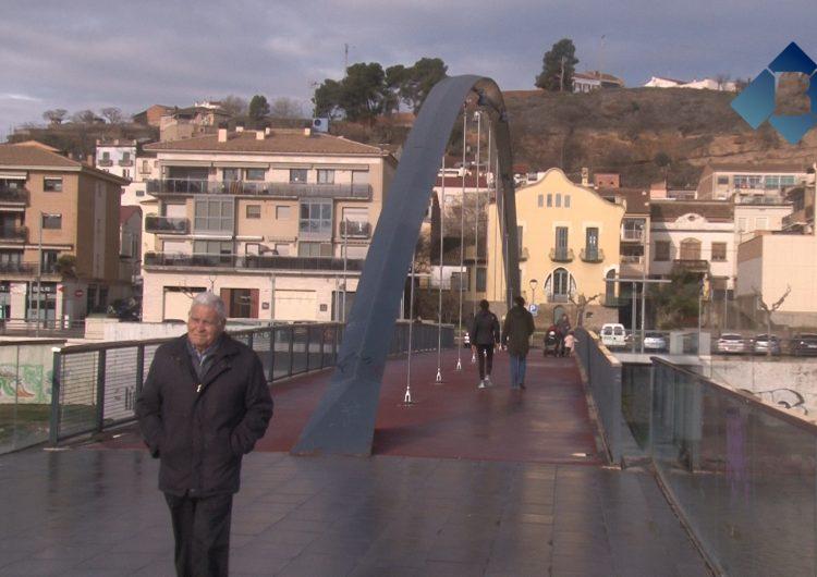 Balaguer torna a la normalitat després de la nevada