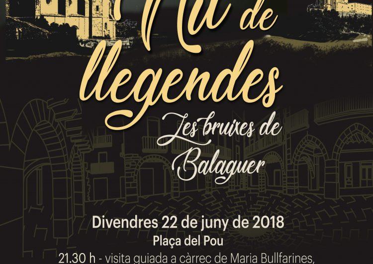 Contes i judicis a les bruixes, a la Nit de Llegendes de Balaguer