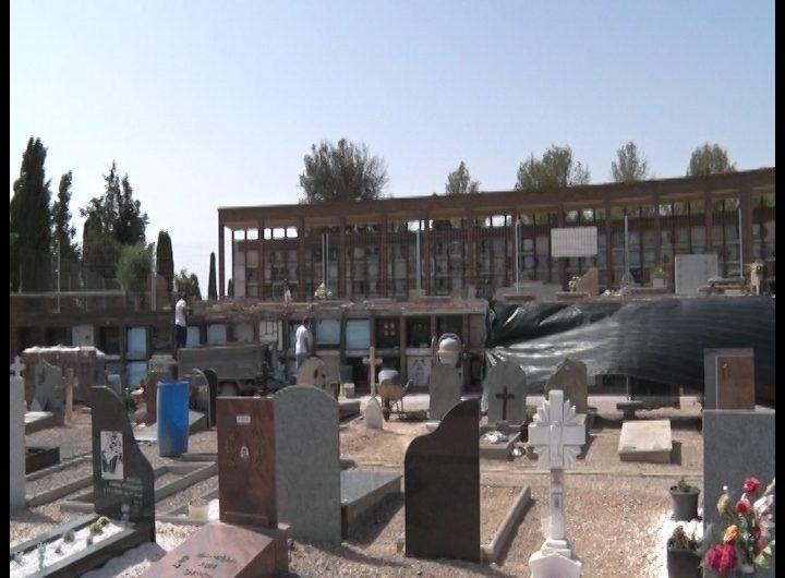 L'Ajuntament de Balaguer realitza obres de millora al cementiri nou de la ciutat