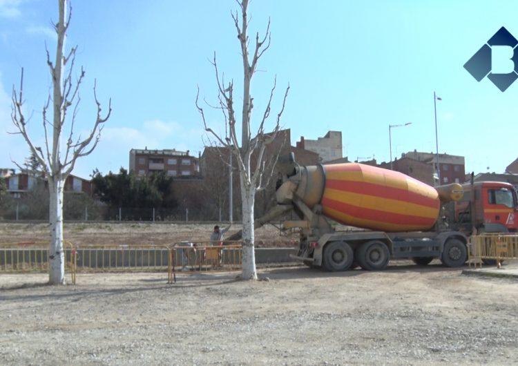 Inicien les obres del nou aparcament d'autocaravanes a la zona del Molí de l'Esquerrà