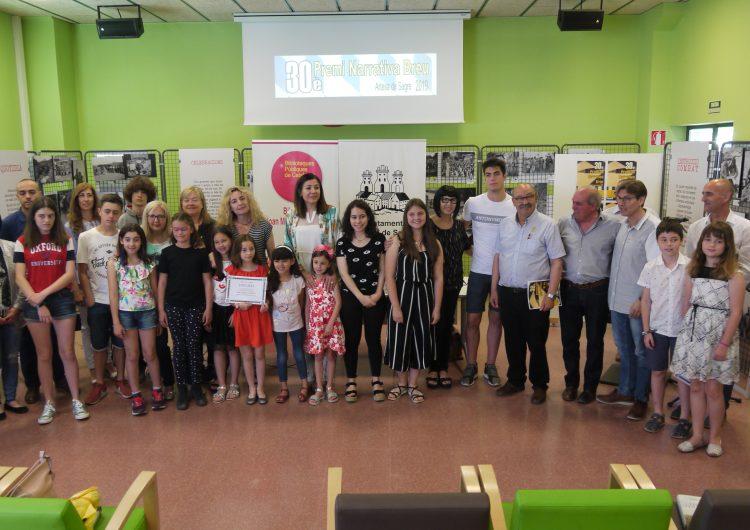 La Biblioteca Joan Maluquer i Viladot lliura el 30è Premi de Narrativa breu d'Artesa de Segre