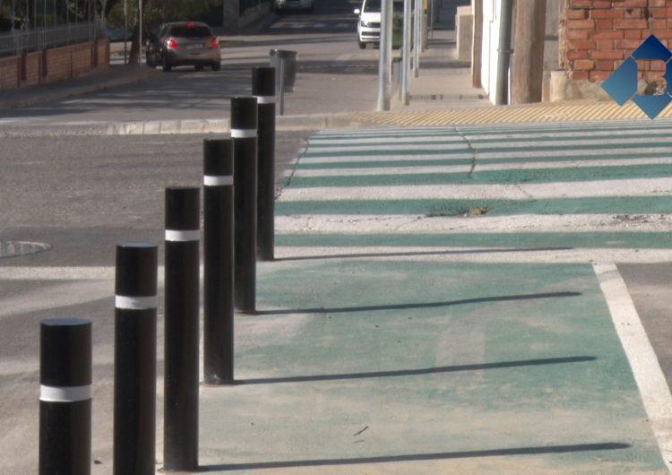 L'Ajuntament de Balaguer instal·la 500 pilones al camí escolar del Erals