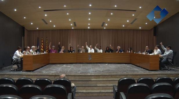 El Ple de Balaguer aprova  una moció amb motiu del primer aniversari de l'1 d'Octubre
