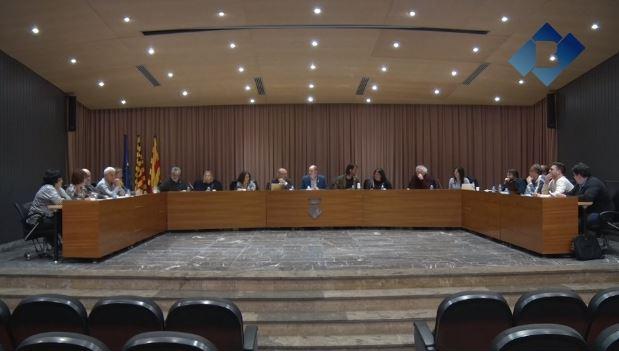 """El ple de Balaguer aprova una moció a favor dels """"presos polítics"""""""