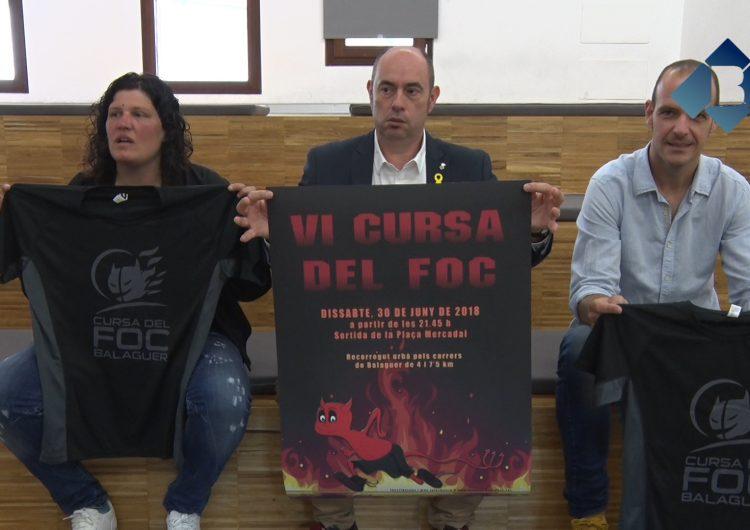 L'Ajuntament de Balaguer presenta la 6a edició de la Cursa del Foc