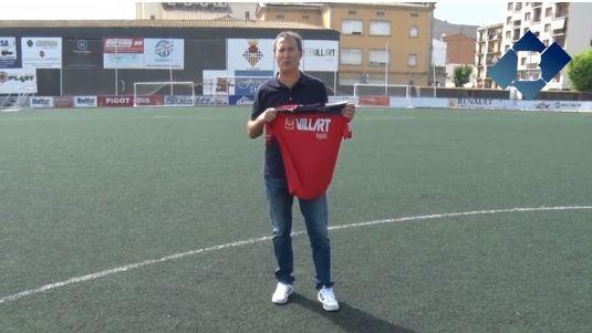 Presentació d'Edu March com a nou entrenador del C.F. Balaguer