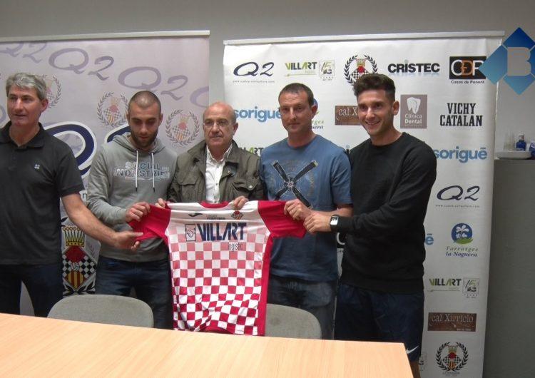 El CF Balaguer presenta el nou equip tècnic per la temporada 2018-2019