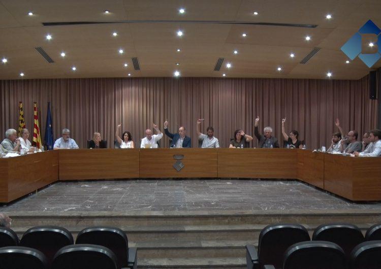 Balaguer aprova els pressupostos amb l'abstenció en bloc de l'oposició