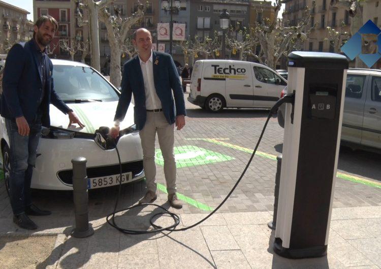 Balaguer ja disposa de dos punts de càrrega per a vehicles elèctrics