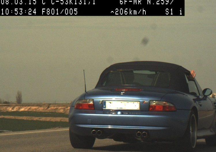 Els Mossos enxampen un conductor que circulava a 206 km/h a Castellserà en un tram limitat a 90 km/h