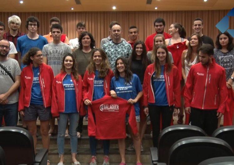 L'Ajuntament de Balaguer rep els equips Junior i el Sènior femení del C.B. Balaguer