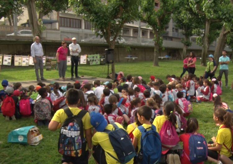 Els escolars de la comarca participen a la jornada de cloenda del refugi de llavors
