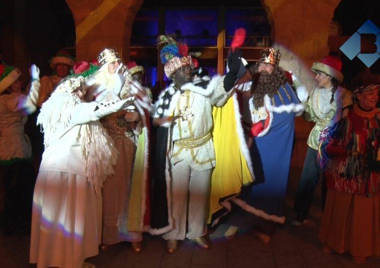 El Reis Mags d'Orient arriben a Balaguer