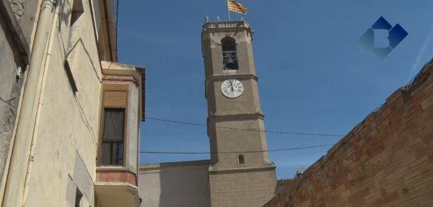 El rellotge del centre cultural Sant Joan de Térmens ja torna a funcionar