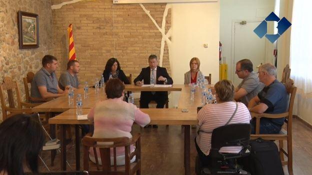 Francisco Garcia reafirma que la renúncia a l'alcaldia és estrictament per motius laborals
