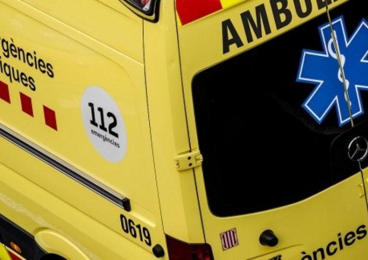 El conductor del camió de porcs que va bolcar a Albesa es troba en estat greu