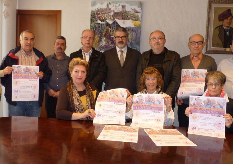 Balaguer se suma a l'any europeu de l'envelliment actiu