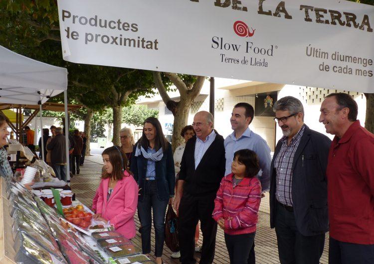 Slow Food Terres de Lleida inaugura el Mercat de la Terra de Balaguer