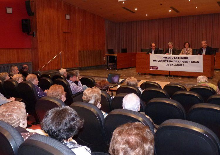 Una cinquantena d'alumnes participen en les Aules d'Extensió Universitària per a la Gent Gran de la Noguera